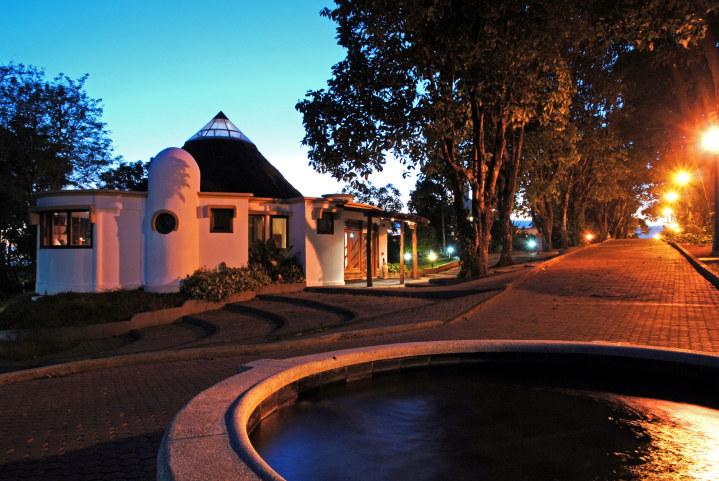 das Royal Palm Hotel auf der Isla Santa Cruz