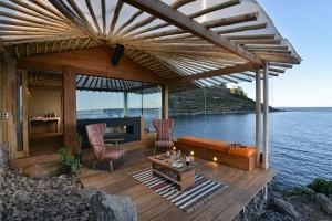 Amantica Lodge auf der Insel Amantani