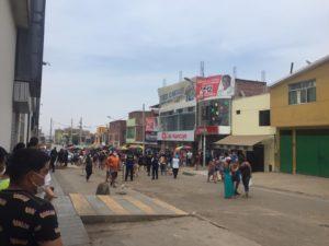 Auch zu Coronazeiten ist viel Publikumsverkehr rund um die Märkte